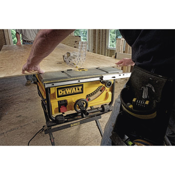 Factory Reconditioned Dewalt DWE7480R 10 in. 15 Amp Site-Pro Compact Jobsite Table Saw image number 14