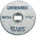Dremel 456-01 1-1/2 in. Fiberglass Reinforced Cut-Off Wheels (10-Pack)