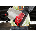 Milwaukee 48-22-8904B 12-Piece Cut Level 1 Nitrile Dipped Gloves - 2XL image number 4