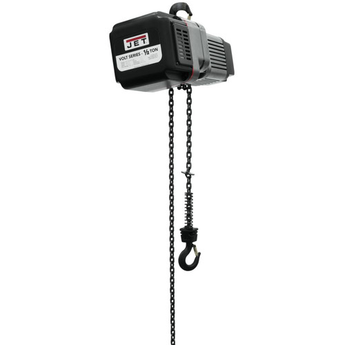 JET VOLT-050-03P-10 1/2 Ton 3-Phase 460V Electric Chain Hoist with 10 ft. Lift image number 0
