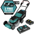 Makita XML06PT1 18V X2 (36V) LXT Lithium-Ion Brushless Cordless 18 in. Self-Propelled Commercial Lawn Mower Kit with 4 Batteries (5.0Ah) image number 1