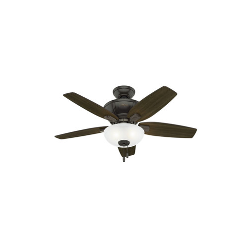 Hunter 51101 42 in. Kenbridge Noble Bronze Ceiling Fan with Light