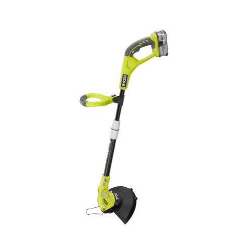 Factory Reconditioned Ryobi ZRP20021 One Plus 18V 12 in. Cordless Lithium-Ion Straight Shaft String Trimmer/Edger
