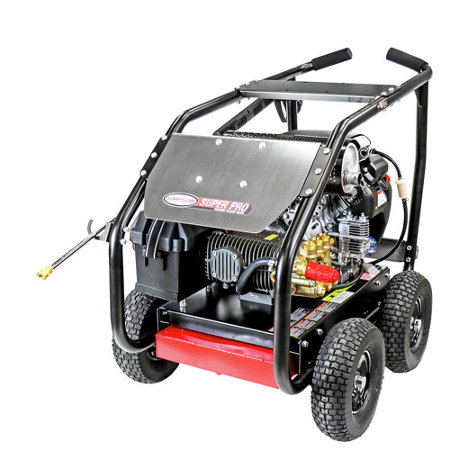 Simpson 65213 5000 PSI 5.0 GPM Gear Box Medium Roll Cage Pressure Washer Powered by HONDA image number 0