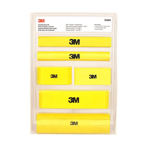 3M 5684 Hookit Sanding Block Kit image number 0