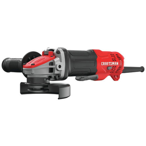 Factory Reconditioned Craftsman CMEG200R 7.5 Amp Brushed 4-1/2 in. Corded Small Angle Grinder image number 0