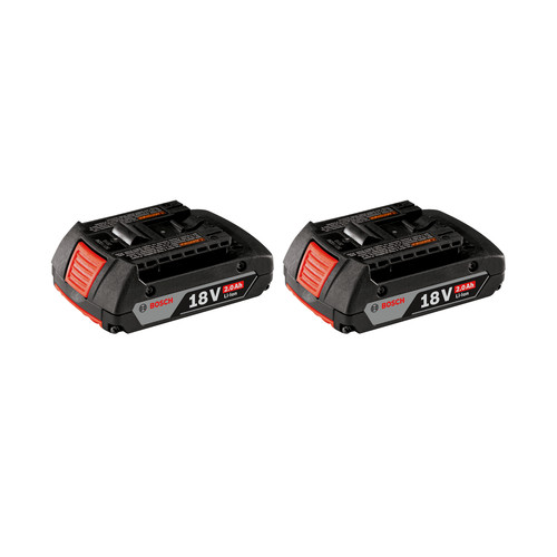 Bosch BAT612-2PK SlimPack 18V Lithium-Ion Battery (2-Pack)