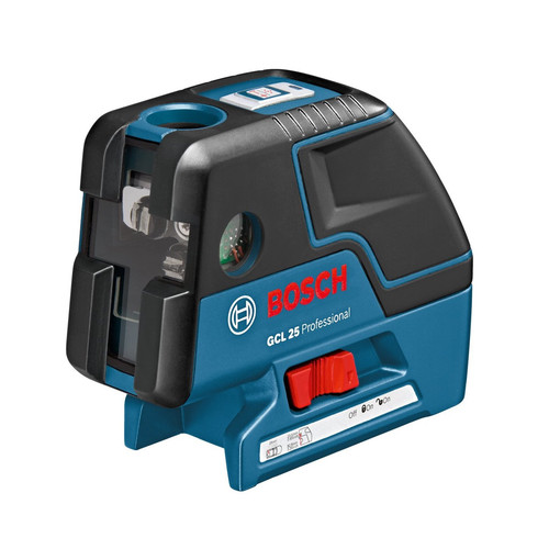 Factory Reconditioned Bosch GCL25-RT Self-Leveling 5-Point Alignment Laser with Cross-Line