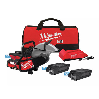 Milwaukee MXF314-2XC MX FUEL Brushless Lithium-Ion 14 in. Cordless Cut-Off Saw Kit (6 Ah)