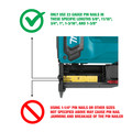 Factory Reconditioned Makita XTP02Z-R 18V LXT Lithium-Ion Cordless 23 Gauge Pin Nailer (Tool Only) image number 9