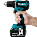 Makita XFD131 18V LXT Lithium-Ion Brushless Compact 1/2 in. Cordless Drill Driver Kit (3 Ah) image number 4