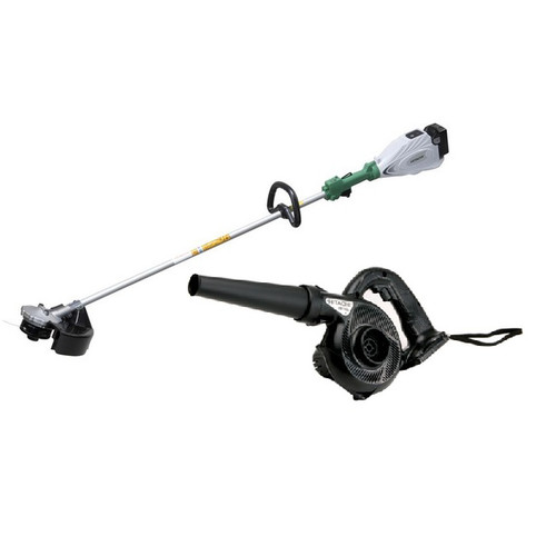 Hitachi CG18DSDL-BNDL 18V Cordless Lithium-Ion String Trimmer & Blower Kit