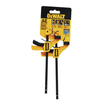 Dewalt DWHT83148 Small Bar Clamps (2-Pack) image number 2