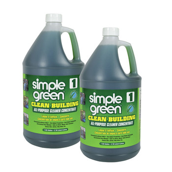 Simple Green 1210000211001 2/Carton 1 Gallon Clean Building All-Purpose Cleaner Concentrate
