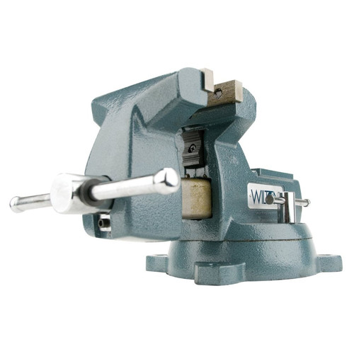 Wilton 745 5 in. Mechanics Vise with Swivel Base image number 0