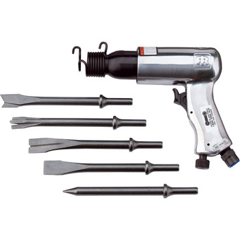 Ingersoll Rand 116K Standard-Duty Air Hammer with 5-Piece Chisel Set