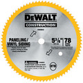 Dewalt DW9053 5-3/8 in. 80 Tooth Circular Saw Blade
