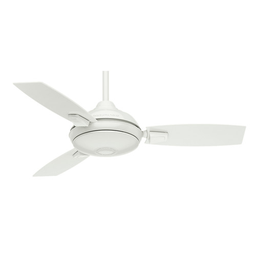 Casablanca 59153 44 in. Verse Fresh White Ceiling Fan with Light and Remote image number 1