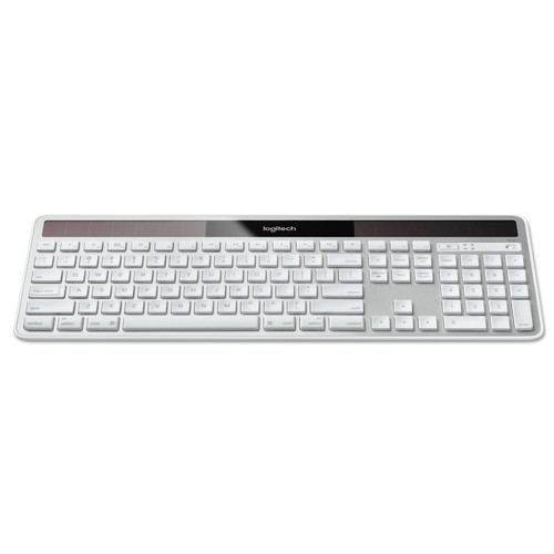 Logitech 920003472 Full Size Wireless Solar Keyboard for Mac (Silver)