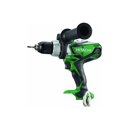 Hitachi DV18DSDLP4 18V Cordless Lithium-Ion 1/2 in. Hammer Drill (Bare Tool)