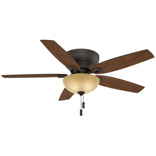 Casablanca 54102 Durant 54 in. Transitional Maiden Bronze Smoked Walnut Indoor Ceiling Fan image number 0