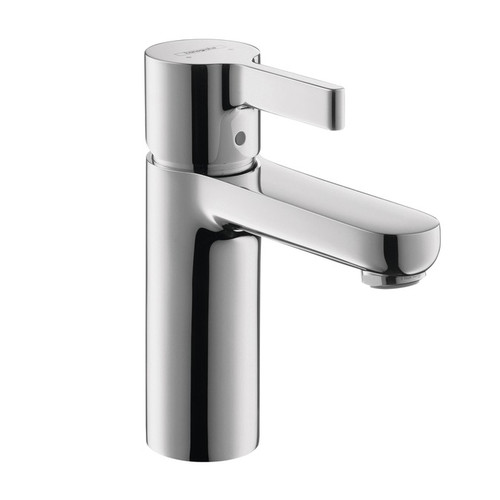 Hansgrohe 04531000 Metris S Single Hole Bathroom Faucet (Chrome)