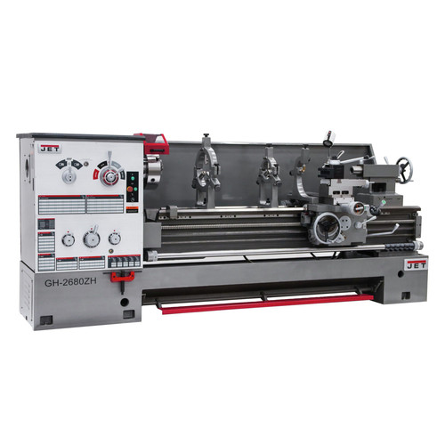 JET 321860 26 in. x 80 in. Geared Head Engine Lathe 4-1/8 in. Spindle Bore