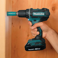 Factory Reconditioned Makita XFD10R-R 18V LXT Lithium-Ion 2-Speed Compact 1/2 in. Cordless Driver Drill Kit (2 Ah) image number 2