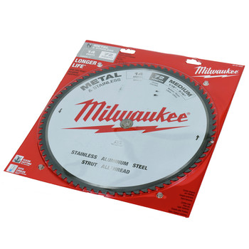Milwaukee 48-40-4505 14 in. Circular Saw Blade (72 Tooth) image number 0