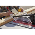 SawStop JSS-120A60 15 Amp 60Hz Jobsite Saw PRO with Mobile Cart Assembly image number 11