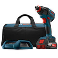 Bosch IDH182WC-102 18V 2.0Ah Cordless Lithium-Ion 1/2 in. Brushless Socket Ready Impact Driver Wireless Kit