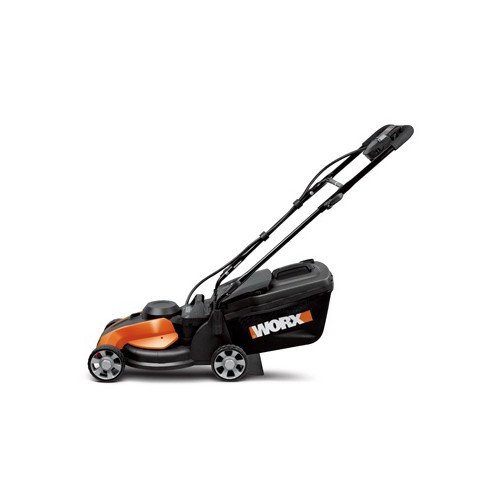 Worx WG775 24V Cordless 14 in. Rear Discharge Electric Lawn Mower