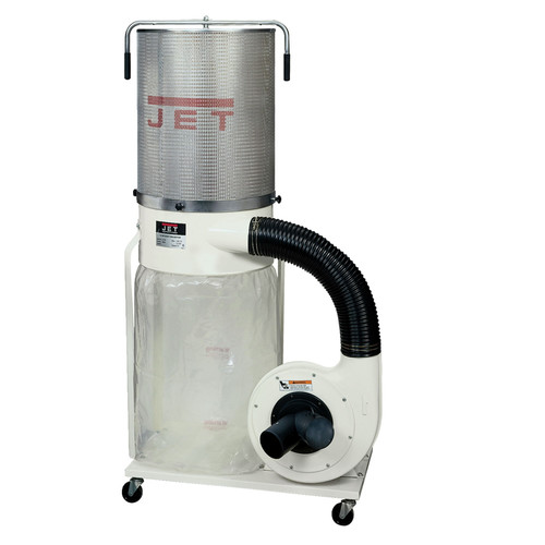 JET DC-1200VX-CK1 Vortex Dust Collector 2HP 1PH 230V2-Micron Canister Kit