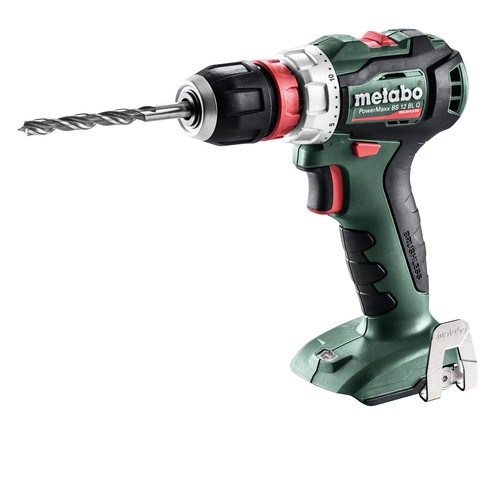 Metabo 601039890 12V PowerMaxx BS 12 BL Q Lithium-Ion Brushless Compact 3/8 in. Cordless Drill Driver (Tool Only) image number 0