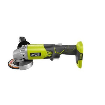 Factory Reconditioned Ryobi ZRP421 ONE Plus 18V Cordless Lithium-Ion 4-1/2 in. Angle Grinder (Tool Only) image number 1