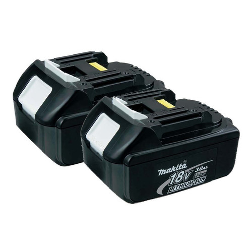 Makita BL1830-2 18V LXT Lithium-Ion 3.0 Ah Battery (2-Pack)