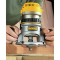 Dewalt DW616 1-3/4 HP Fixed Base Router image number 2