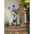 Louisville FS4006 6 ft. Type II 225 lbs. Load Capacity Fiberglass Step Ladder image number 3