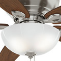 Casablanca 54101 Durant 54 in. Transitional Brushed Nickel Walnut Indoor Ceiling Fan image number 7
