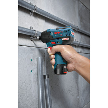Bosch PS42BN 12V MAX Cordless Lithium-Ion EC Brushless 1/4 in. Hex Impact Driver (Tool Only) image number 2