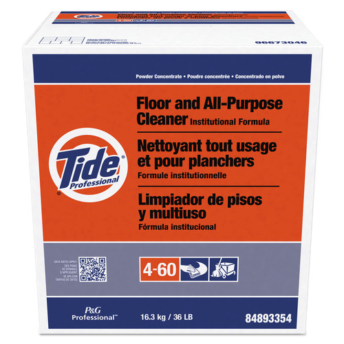 Tide Professional 02364 36 lbs. Box Floor and All-Purpose Cleaner image number 0