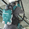 Makita XCV10ZX 18V X2 LXT Lithium-Ion (36V) Brushless 1/2 Gallon HEPA Filter AWS Capable Backpack Dry Dust Extractor (Tool Only) image number 8