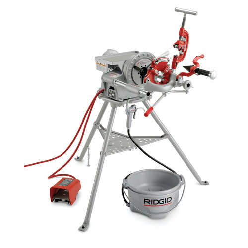 Ridgid 300 Complete 18 Amp Power Drive Threading System image number 0