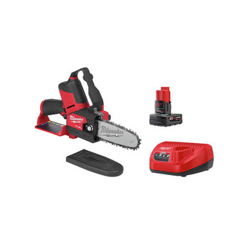 Milwaukee 2527-21 M12 FUEL HATCHET Brushless Lithium-Ion 6 in. Cordless Pruning Saw Kit (4 Ah)