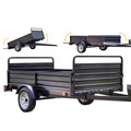 Detail K2 MMT5X7 5 ft. x 7 ft. Multi Purpose Utility Trailer (Black powder-coated) image number 6