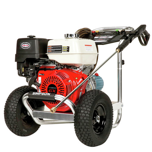 Simpson 60688 Aluminum 4200 PSI 4.0 GPM Professional Gas Pressure Washer with CAT Triplex Pump image number 0
