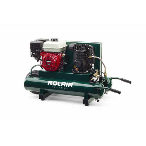 Rolair 4090HMK103-0001 9 Gallon 163cc 5.5 HP Portable Belt Drive Air Compressor