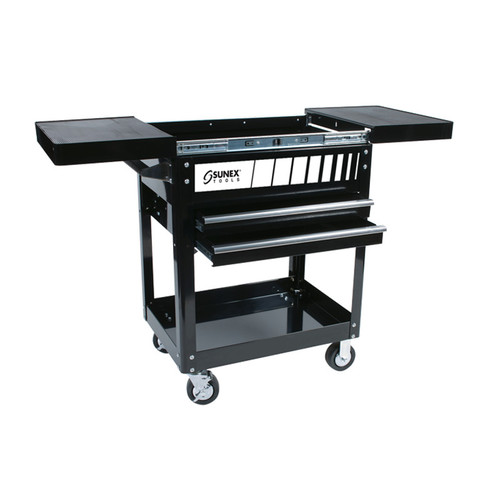 Sunex 8035 450 lb. Capacity Compact Slide Top Utility Cart image number 0