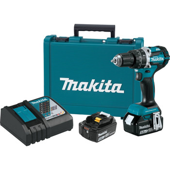 Makita XPH12T 18V LXT Lithium-Ion Compact Brushless 1/2 in. Cordless Hammer Drill Driver Kit (5 Ah) image number 0