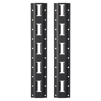 Milwaukee 48-22-8482 2-Piece Vertical E-Track for PACKOUT Wall-Mount Storage Racking Shelf